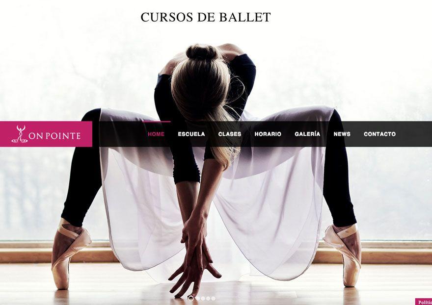 bailarina ballet onpointe